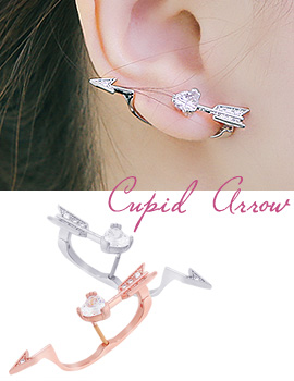 1043789 - <ER833-S> [Sold Out Immediately] [Selling] Cupid arrow earrings