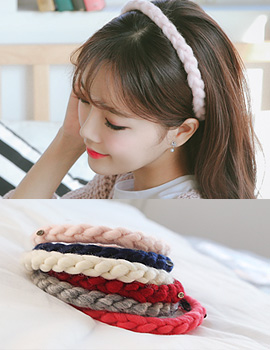 1043834 - <HA409-H8> [Immediate out of stock] Candy floss hairband