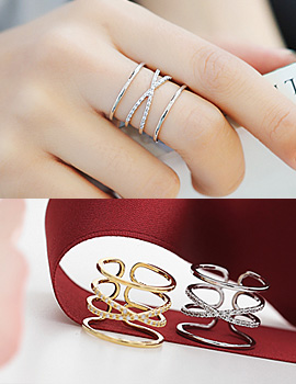 1043861 - <RI486-S> [Out of stock] Luisa ring