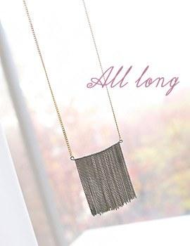 1043870 - <NE253-BB14> Long necklace