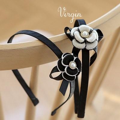1043872 - <HA413-FB09> Virgin Flower hairband