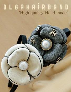 1043879 - <HA414-FB06> Olga hairband