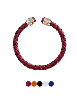 1043939 - <BC457-HD09> Melbourne leather bracelet