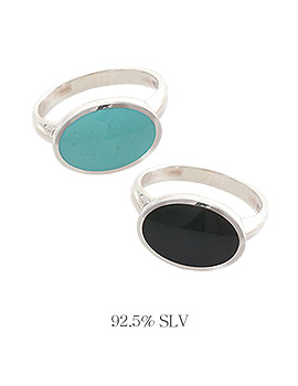 1043973 - <RI496_AB18> [Silver] Notting Hill ring