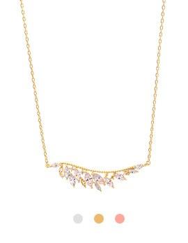 1043985 - <NE437_S> Francia wing necklace