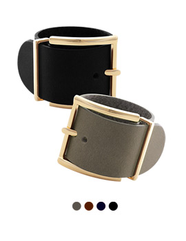 1043987 - <BC459_S> [SOLD OUT imminent] wide leather Belt bracelet