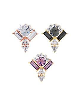 1044003 - <ER876_GI19> [clip type] Miranda crystal earrings