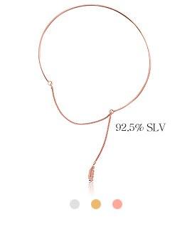 1044014 - <BC464_B> [Silver] Leaf holic bracelet