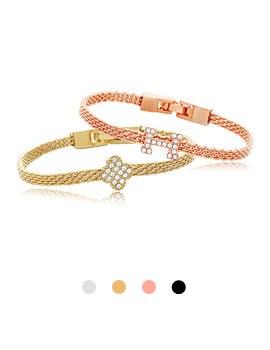 1044052 - <BC470_HC06> H Ann Flower bracelet