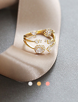 1044068 - <RI519_S> [Sold out] valenti cubic ring