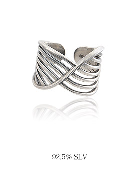 1044076 - <RI516_JF01> [Silver] Surfing ring