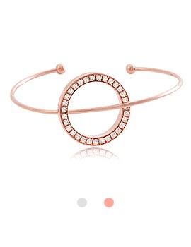 1044091 - <BC475_HG23> Saturn cubic point bracelet