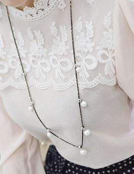 1044106 - <NE281_BE01> juicy long necklace
