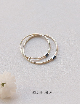 1044107 - <RI524_JF07> [2Piece 1set] [Silver] forest ring