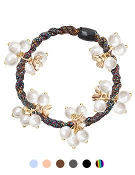 1044135 - <HA431_H7> Milky pearl ponytail