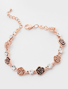 1044190 - <BC487_S> [Same day shipping] sweet rose bracelet