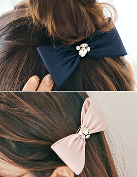 1044210 - <HA443_S> [SOLD OUT] Mine ribbon hairpin