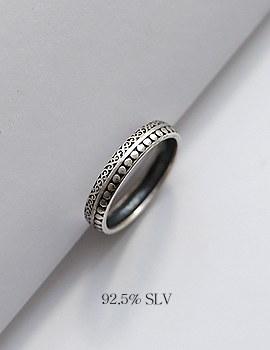 1044214 - <RI539_JE03> [Silver] Aria vintage ring