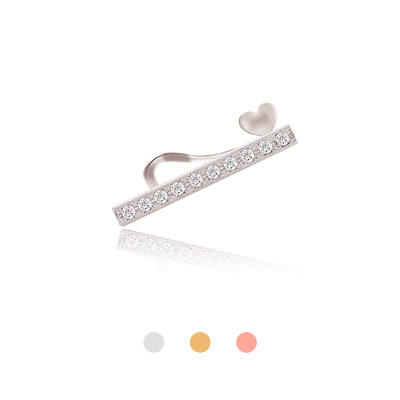 1044235 - <EC122_CE11> [Sold individually] heart point stick Earcup