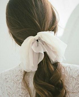 1044254 - <HA451_H1> Chiffon dressy hairpin