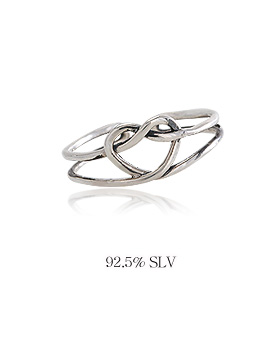 1044262 - <RI548_JF01> [Silver] funny love ring