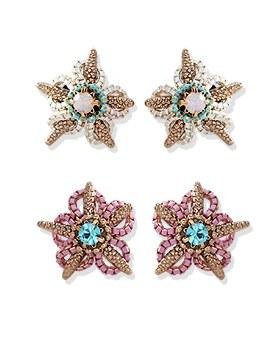 1044275 - <ER971_DE08> [handmade] [Silver Post] Sea Star earrings