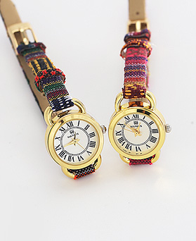1044281 - <WC100_S> [Same day delivery] simple ethnic leather watches