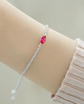 1044289 - <BC498-S>冷 cubic bracelet