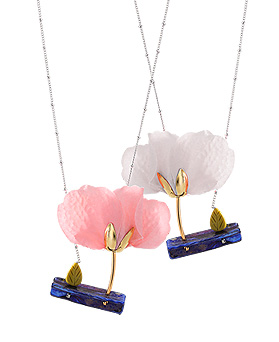 1044337 - <NE298_BB05> garden story necklace