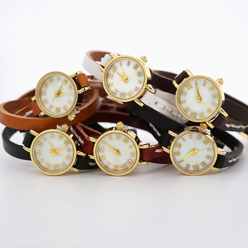 1044376 - <WC102_BD13> Ann double leather watches