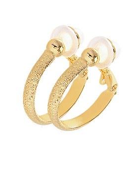 1044390 - <PC196_CH00> [clip type] cutie cutting earrings