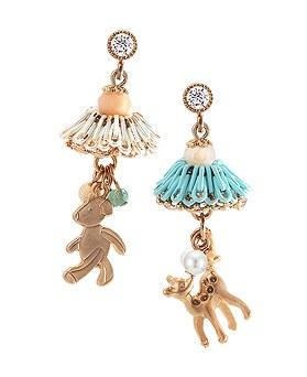 1044394 - <ER994_DK17> [handmade] [Silver Post] Animal's earrings