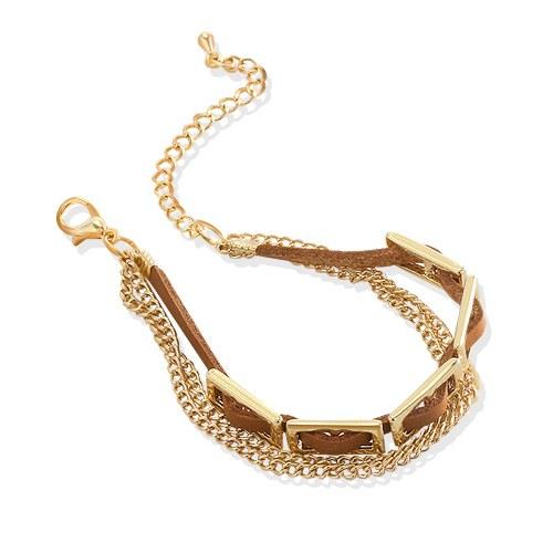 1044409 - <BC518_HG04> chain bote bracelet