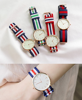 1044470 - <WC104_BD14> Stripe simple watches