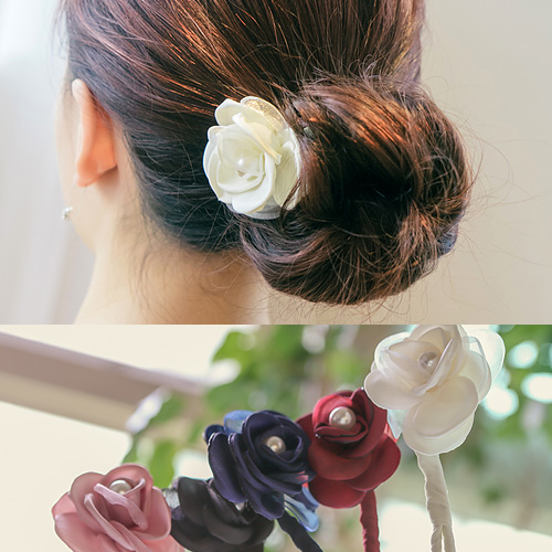 1044476 - <HA473_FB05> [handmade] Flower tanggu ponytail