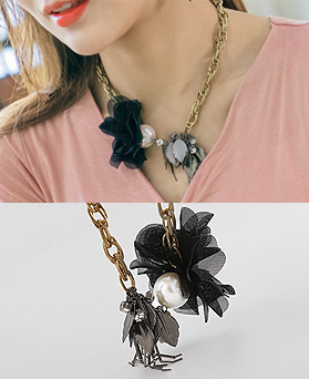 1044509 - <NE316_IB03> Casablanca necklace