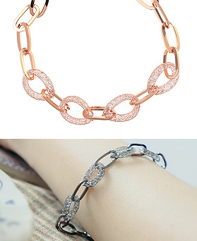 1044523 - <BC546_HH06> Friend chain bracelet
