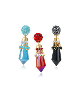 1044553 - <ER1030_GF14> Evan crystal earrings