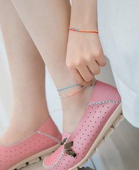 1044575 - <BC558_IA03> [bracelet + anklet] dahlia set