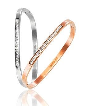 1044576 - <BC556_HC21> [Stainless Steel] Marionette bracelet