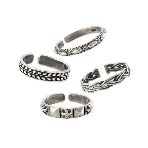 1044583 - <RI593_JH11> [Silver] vintage nuovo ring