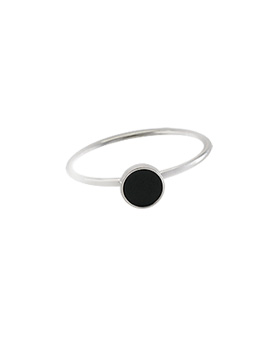 1044589 - <RI596_JH07> [Silver] Soft daily ring