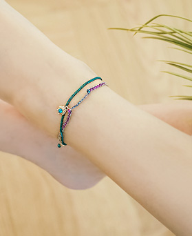 1044612 - <BC567_HA06> Tropical night anklet