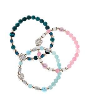 1044614 - <BC569_HH09> Venetian gemstone bracelet