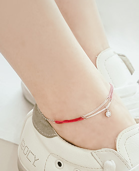 1044618 - <BC571_S> [Same day delivery] cocktail vivid anklet