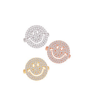 1044620 - <RI599_AD01> All night smile ring