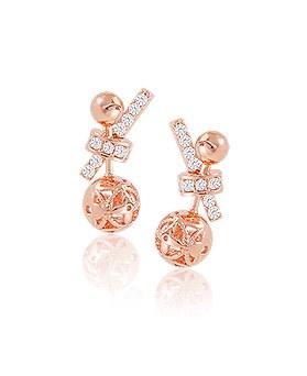 1044623 - <ER1042_IF15> ball cheek earrings