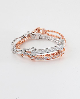 1044642 - <BC575_HA13> Paris string bracelet