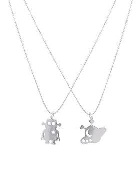 1044669 - <NE333_BE08> [Silver] Toy necklace