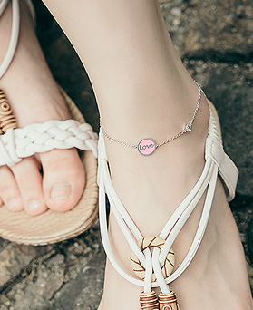 1044698 - <BC591_HA21> baby love anklet